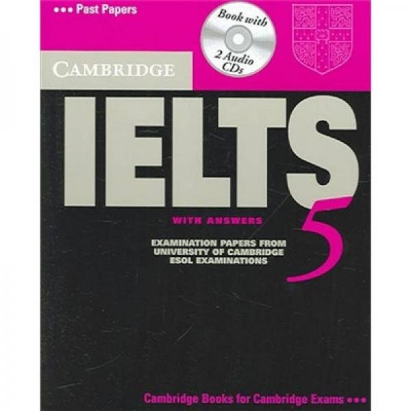 Cambridge IELTS 5 Self Study Pack 剑桥雅思5自学包