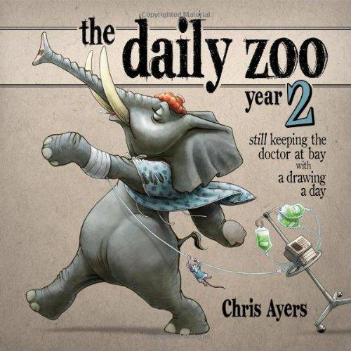 Daily Zoo Year 2: Keeping the Doctor at Bay with a Drawing a Day