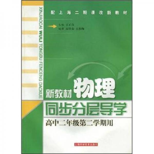 配上海二期课改新教材:新教材物理同步分层导学(高中2年级)(第2学期用)
