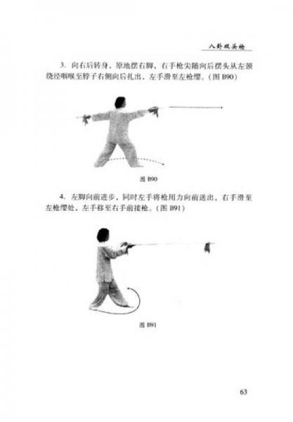 中华传统武术经典丛书:传统八卦枪