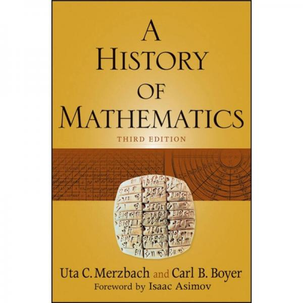 A History of Mathematics  数学史 第3版