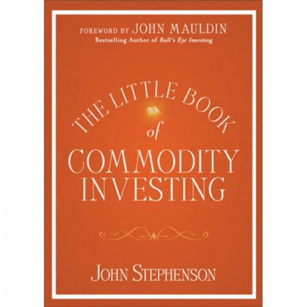 The Little Book of Commodity Investing 期货获利策略