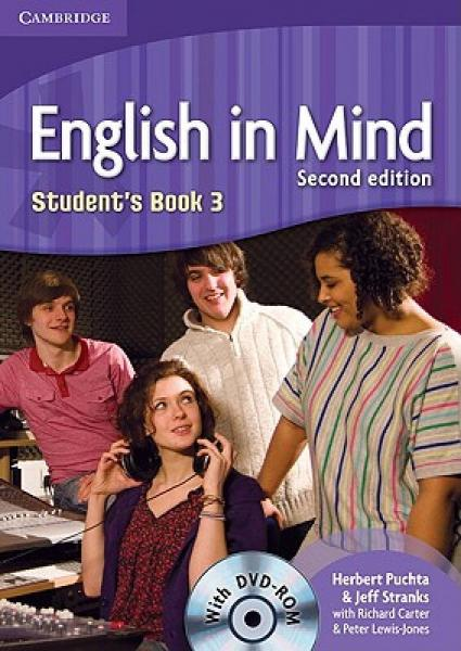 English in Mind Level 3 Students Book with DVD-ROM