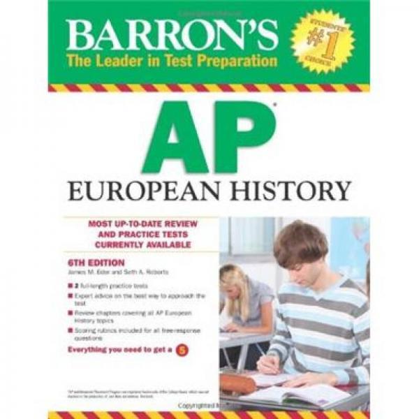 Barrons AP European History, 6th Edition