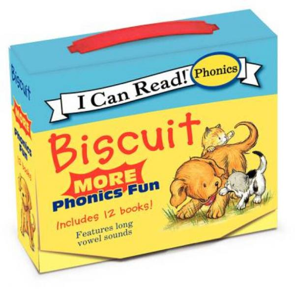 Biscuit: More Phonics Fun (My First I Can Read) 饼干:拼音乐趣