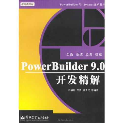 PowerBuilder 9.0开发精解