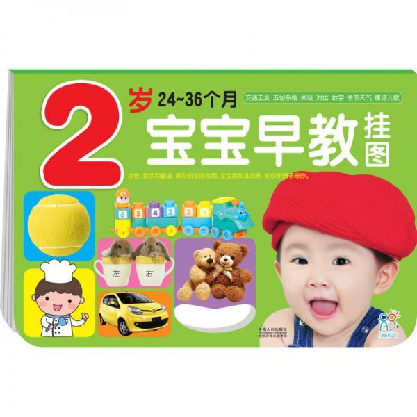 海润阳光·宝宝早教挂图(2-3岁)