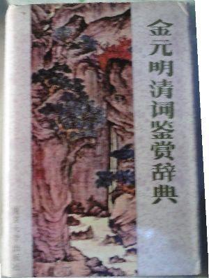 金元明清词鉴赏词典