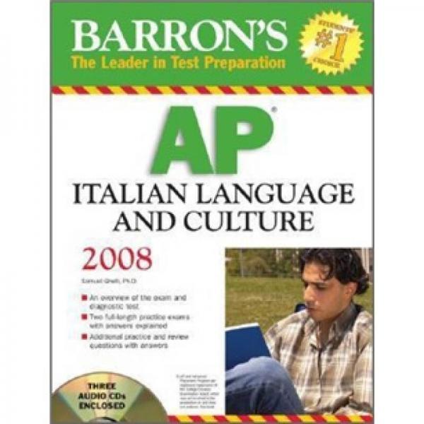 AP Italian Language and Culture (Barrons Ap Italian Language and Culture)