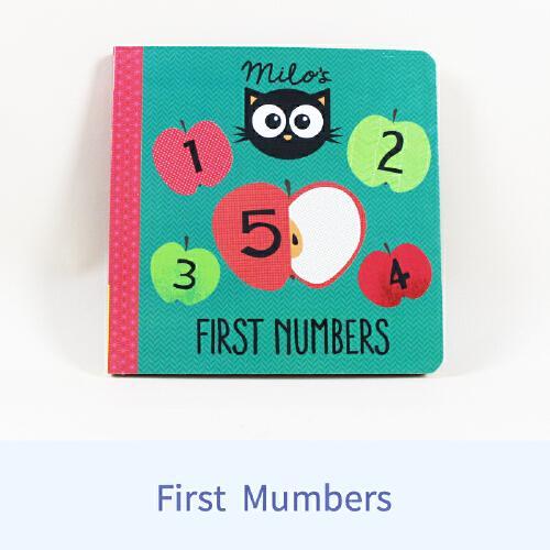 英文原版Milos First Numbers