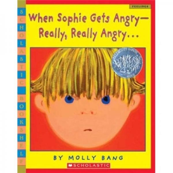 When Sophie Gets Angry Really Really Angry…