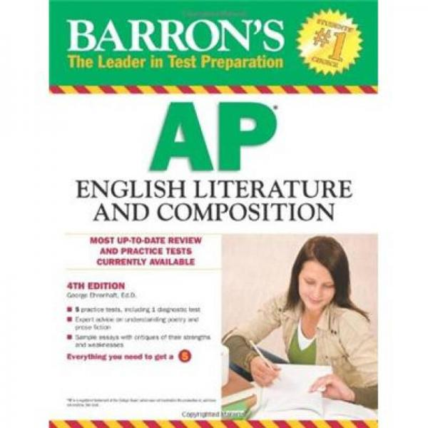 Barrons AP English Literature and Composition, 4th Edition