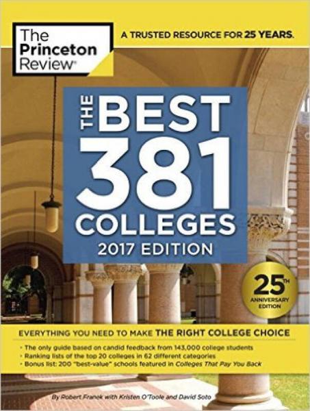BEST 381 COLLEGES 2017