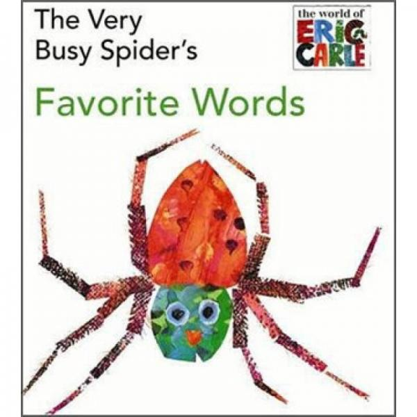 The Very Busy Spiders Favorite Words   Board book    非常忙的蜘蛛最爱的单词