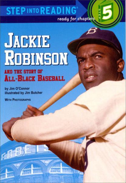 Step into Reading Jackie Robinson 棒球手杰克罗宾逊