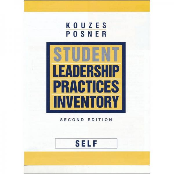 Student Leadership Practices Inventory (LPI): Self Instrument