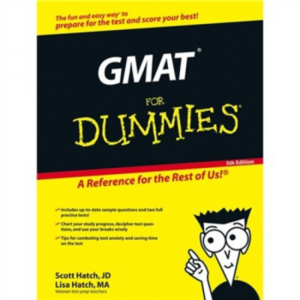 GMAT For Dummies, 5th Edition