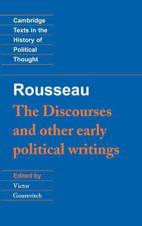 The Discourses and Other Early Political Writings