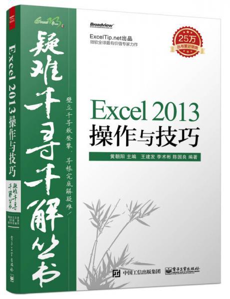 疑难千寻千解丛书 Excel 2013操作与技巧
