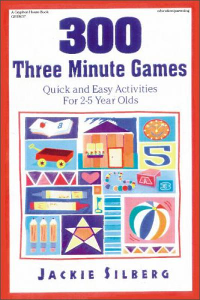 300 Three Minute Games  Quick and Easy Activitie