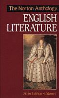 The Norton Anthology of English Literature Sixth Edition