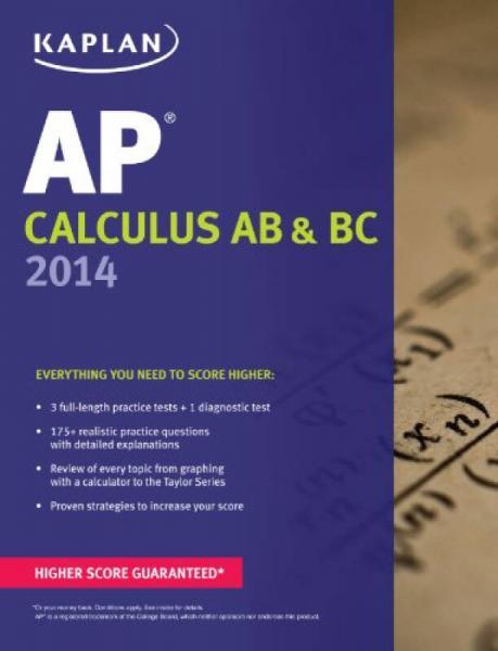 Kaplan AP Calculus AB & BC 2014 (Kaplan AP Series)