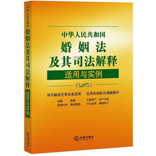 中华人民共和国婚姻法及其司法解释适用与实例(第五版)