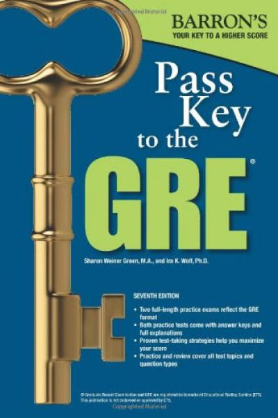 Barrons Pass Key to the GRE, 7th Edition