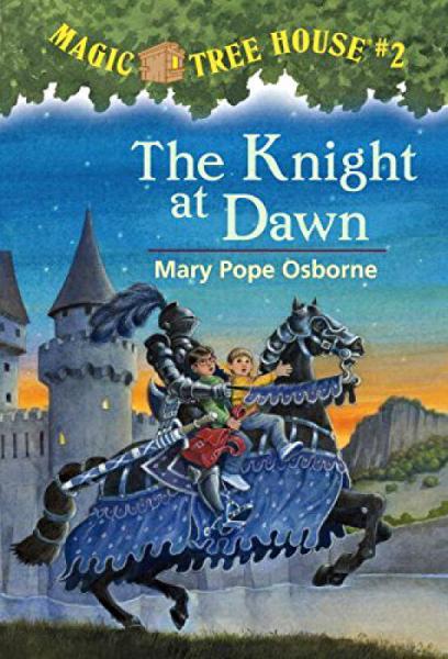 The Knight at Dawn (Magic Tree House #2)  神奇树屋系列2:黎明骑士 英文原版