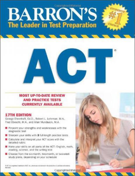 Barrons ACT, 17th Edition