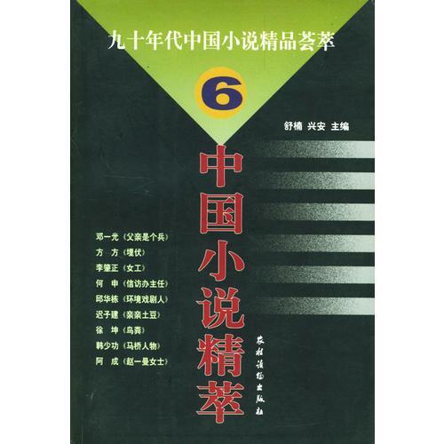 九十年代中国小说精品荟萃(6)
