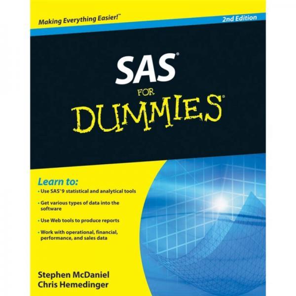 SAS For Dummies[傻瓜书-如何使用SAS]