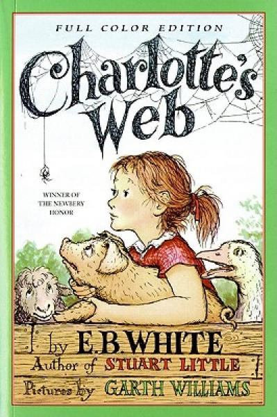 Charlottes Web夏洛特的网 英文原版