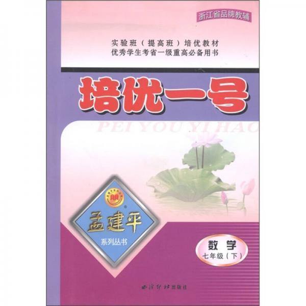 孟建平系列丛书·培优一号:数学(7年级下)