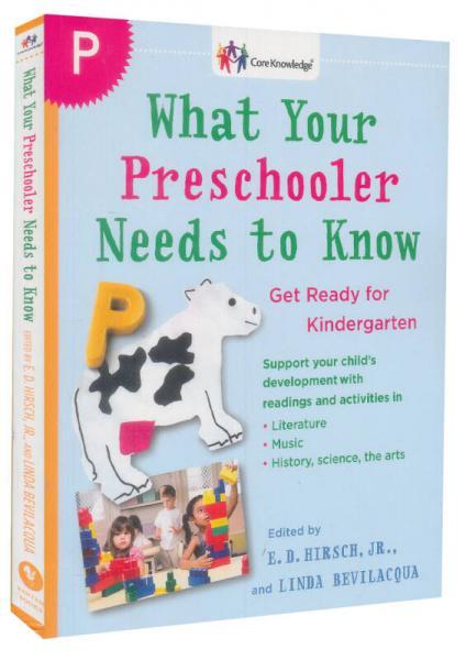 What Your Preschooler Needs to Know: Get Ready for Kindergarten