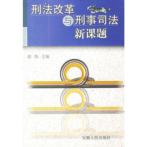 刑法改革与刑事司法新课题