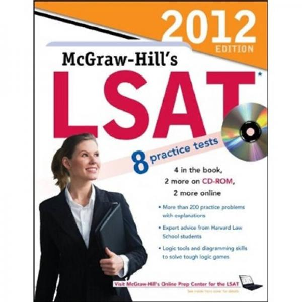 2012Edition  Mcgraw-Hills   SAT  10practice tests (Book+CD)