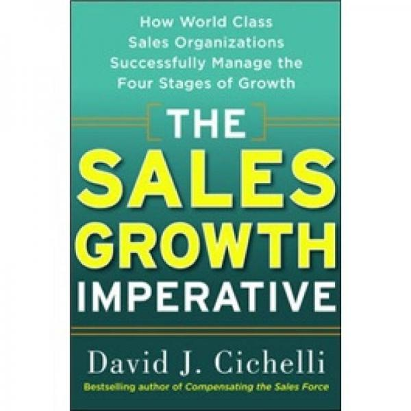 The Sales Growth Imperative[销售增长势在必行]