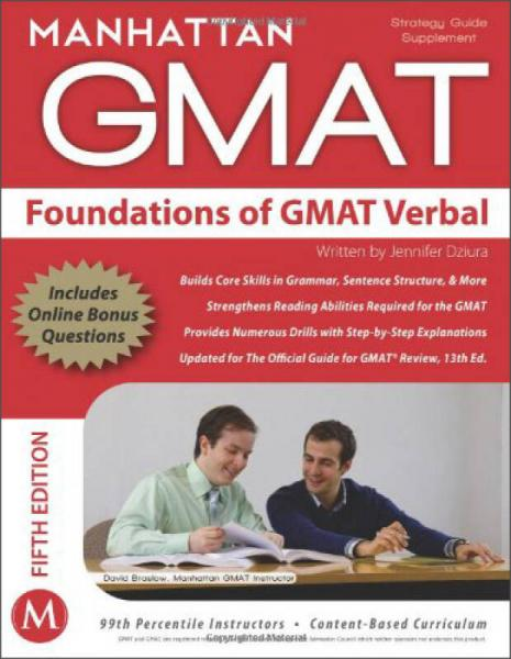 Foundations of GMAT Verbal