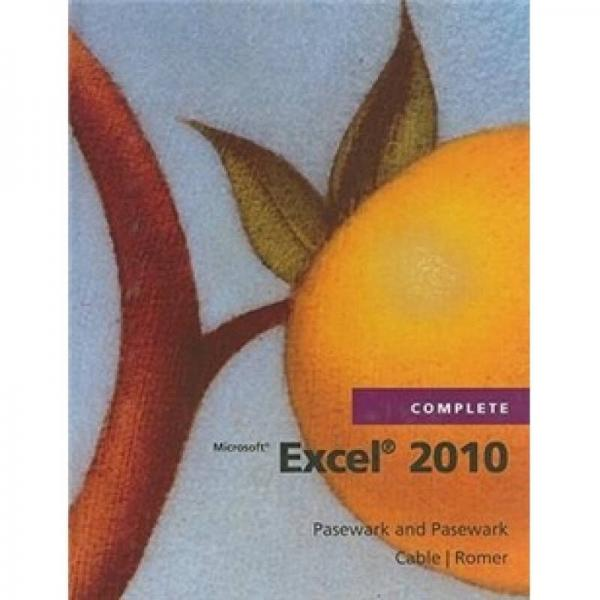 Microsoft Office Excel 2010 Complete
