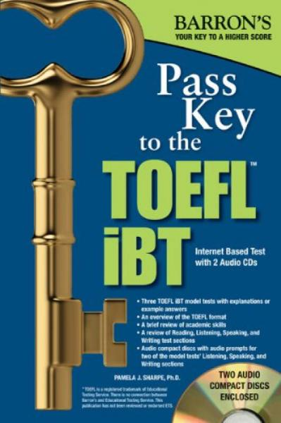 Barrons Pass Key to the TOEFL iBT, 8th Edition