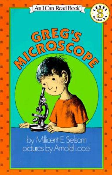 Gregs Microscope (I Can Read, Level 3)克雷格的显微镜
