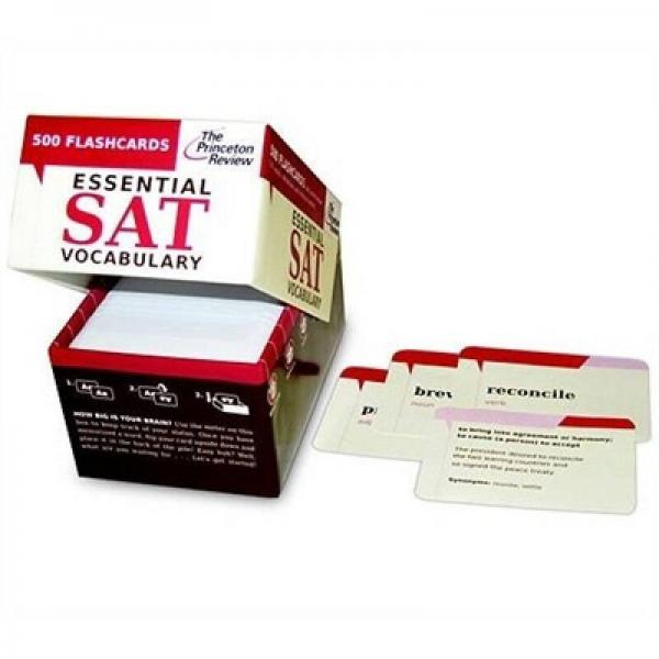 Essential SAT Vocabulary: 500 Flashcards (College Test Preparation)(Cards)