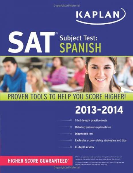 Kaplan SAT Subject Test Spanish 2013-2014 (Kaplan SAT Subject Test Series)