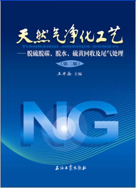 天然气净化工艺:脱硫脱碳、脱水、硫黄回收及尾气处理(第二版)