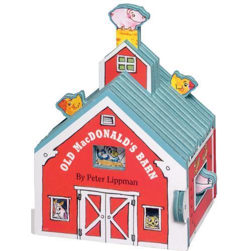 Mini House: Old MacDonalds Barn 迷你屋系列:老麦克唐纳家的谷仓(卡板书)