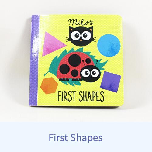 英文原版Milos First Shapes