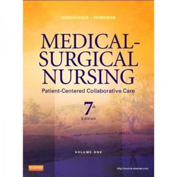 Medical-Surgical Nursing内外科护理学:以病人为中心协同护理(2卷集)
