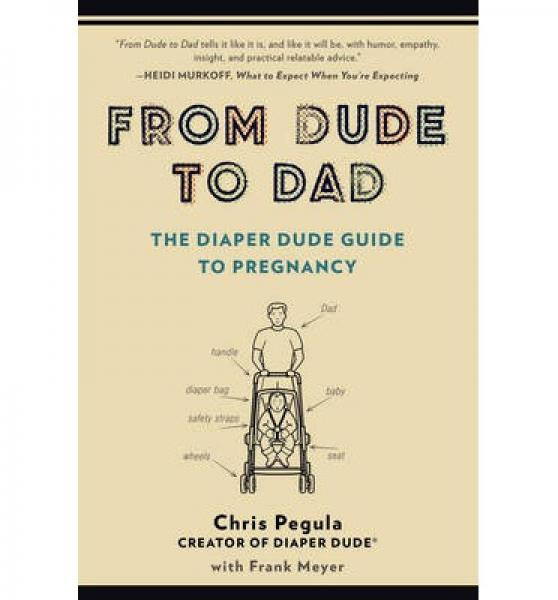 From Dude to Dad  The Diaper Dude Guide to Pregn