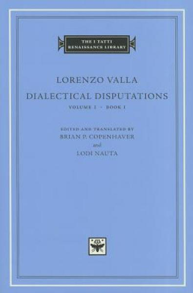 DialecticalDisputations,Volume1:BookI